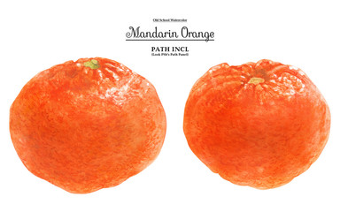 Mandarin Orange Fruits