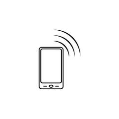 smartphone icon. Element of popular phone icon. Premium quality graphic design. Signs, symbols collection icon for websites, web design