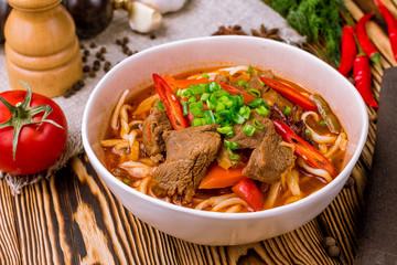 Lagman asian soup