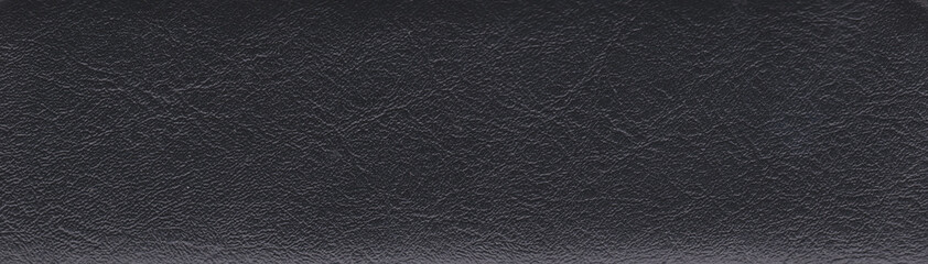 Black imitation leather Wall mural