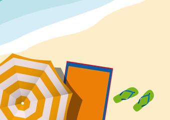 Vector Summer horizontal Background