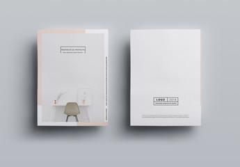 Diseño sofisticado para propuesta