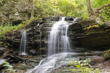 Waterfall at Ricketts Glen State Park, PA