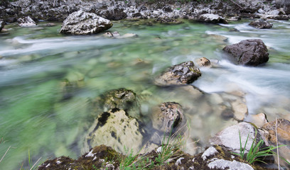 Photo sur Toile Riviere Mountain river
