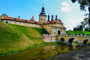 beautiful castle with a moat 4
