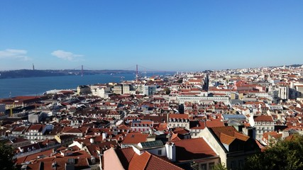 Lisbon from the top