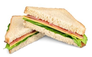 Fotobehang Snack BLT Sandwich Detail