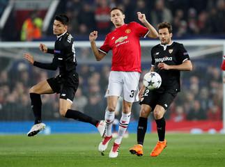 Champions League Round of 16 Second Leg - Manchester United vs Sevilla