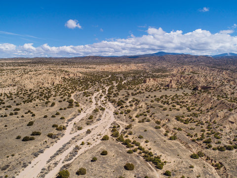 Desert Landscape of Northern New Mexico