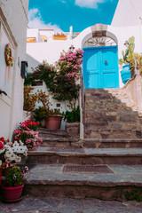 Mediterranean style island house.