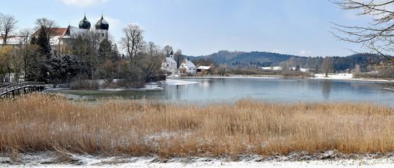 Seeon - Bavaria - Beautiful Winter Landscape