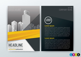 Abstract modern Background Creative Design, Business Brochure, Template Flyer Layout, Annual Report, booklet, in A4 size-Vector Illustration