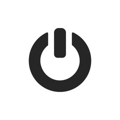On/Off switch icon. Power symbol. Vector illustration