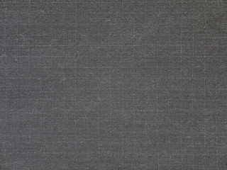Dark gray cotton polyester fabric texture