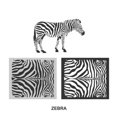 zebra fabric printing