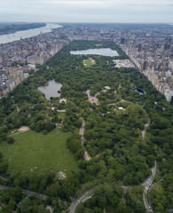 Middle of Central Park, New York
