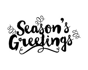 seasons greetings typography typographic creative writing text image 3