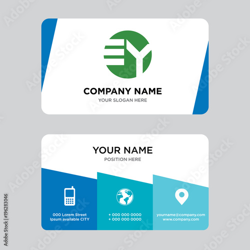 Ey ye business card design template visiting for your company ey ye business card design template visiting for your company modern creative and clean reheart Choice Image