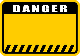 danger, sign