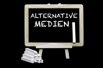 Alternative Medien Tafelsymbol