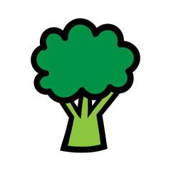 Cartoon Broccoli Illustration