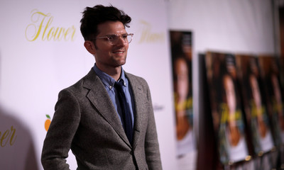 """Cast member Scott poses at the premiere for """"Flower"""" in Los Angeles"""