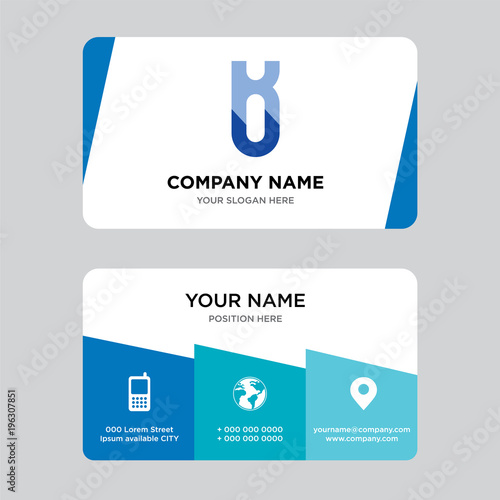 Ku or uk business card design template visiting for your company ku or uk business card design template visiting for your company modern creative and accmission Gallery