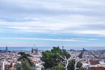 Barcelona panoramic view, Spain, Europe