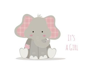 nascita bambina, baby elephant