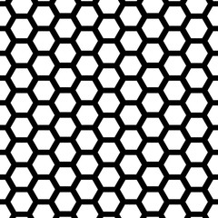 Geometric Vector Pattern. Black and white Background.