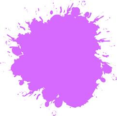 Pink splash discount label