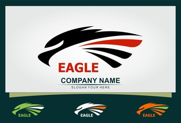 eagle sport icon logo