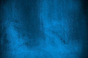 Glänzende Metalltextur blau