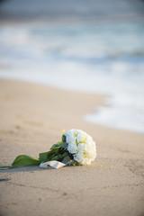 砂浜とぶーけ