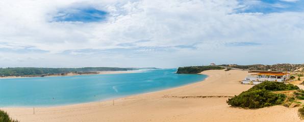 Sandstrand in Vila Nova de Milfontes am Atlantik
