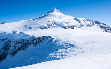 In de dag Antarctica Mt Vinson, Sentinel Range, Ellsworth Mountains, Antarctica