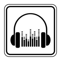 Logo casque audio.