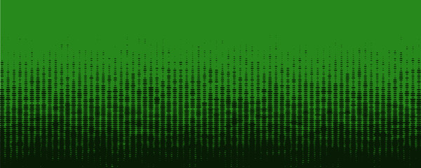 Green Halftone Banner