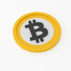 Bitcoin Currency Isolated
