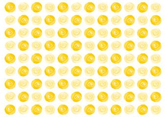 バラ 黄色 イラスト 模様 背景