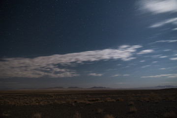 Desert at Night, Semnan, Iran