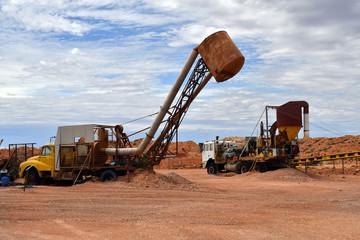 Australia, Coober Pedy, Opal Mining