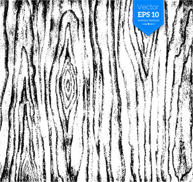 Wood texture for design overlays