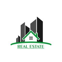 Real estate logo. building logo, healthy home logo. creative logo design.