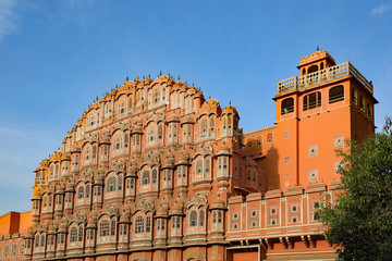 "The Hawa Mahal, also known as the ""Palace of Wind"", in Jaipur, India"