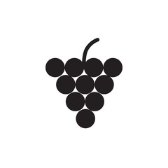 grape filled vector icon. Modern simple isolated sign. Pixel perfect vector  illustration for logo, website, mobile app and other designs