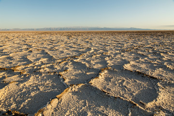 Salt Lake Desert, Semnan, Iran