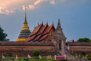 Wat phra that lampang luang temple , Lampang , Thailand