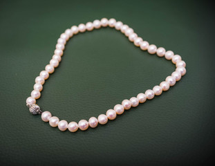 bride's pearl necklace