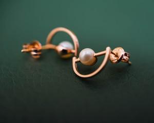 bride pearl bride earrings